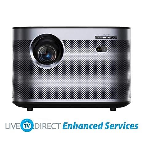 Home Cinema Projector, LiveTV.Direct Enhanced H3 Native 1080p HD ...