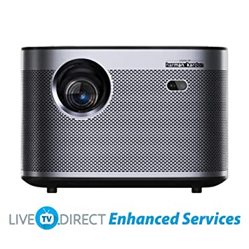 Home Cinema Projector, LiveTV.Direct Enhanced H3 Native 1080p HD ...