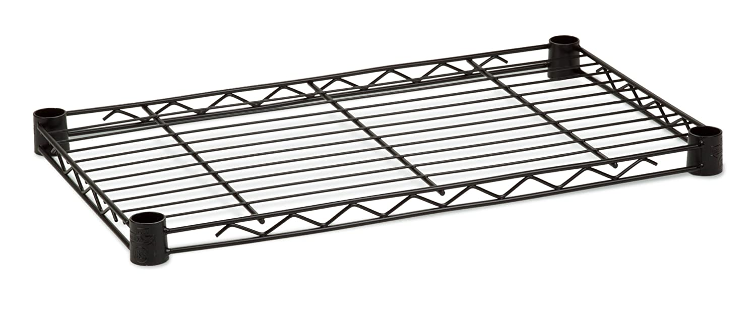 Honey-Can-Do SHF250B1436 Steel Wire Shelf for Urban Shelving Units, 250lbs Capacity, Black, 14Lx36W