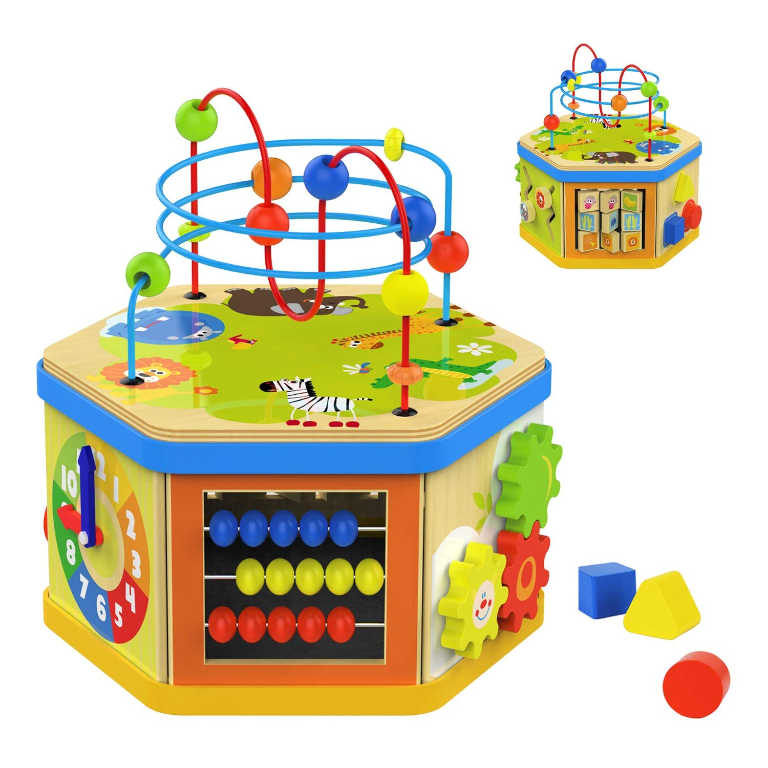 TOP BRIGHT Activity Cube