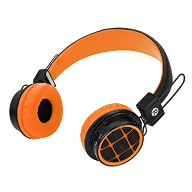 Niños auriculares auriculares inalámbricos Bluetooth para niños para niños sobre oreja Auriculares con 3,5