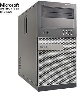Dell Optiplex 790-MT Desktop PC, Intel Core i7, 16GB Memory, 256GB Solid State Drive, Windows 10, OD1-0234 (Renewed)