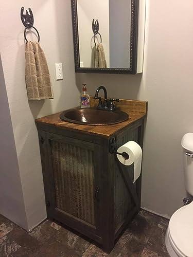 Rustic 24u0026quot; Bathroom Vanity FREE SHIPPING