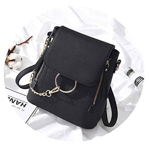 f3739acd2340 Amazon.com  2019 New Fashion PU Leather Women Backpack Mini Women Shoulder  Bags Teenager School Backpack Bag Ladies Backpacks