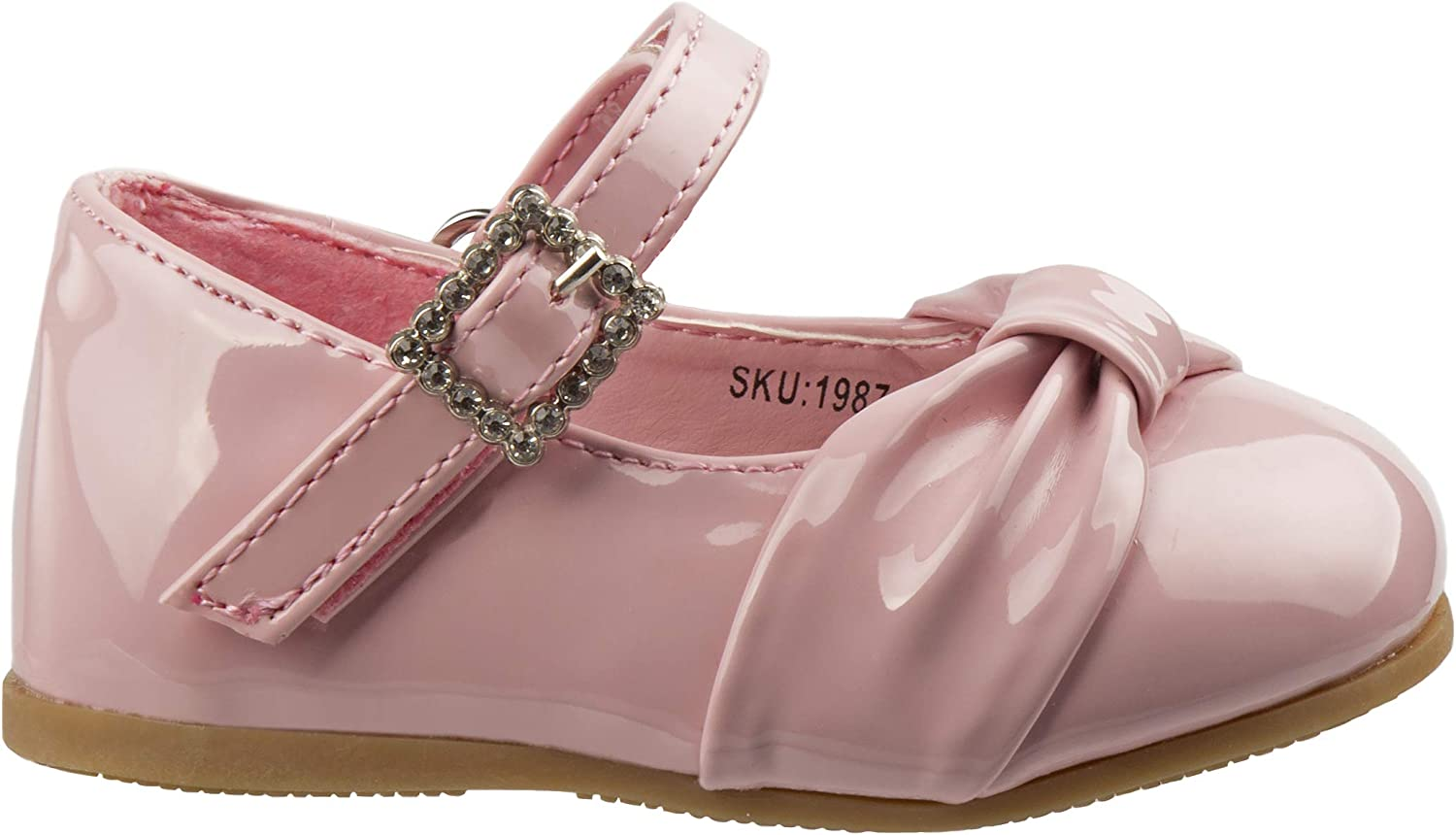 Infant//Toddler Josmo Baby Girls Dressy Shoe with Bow