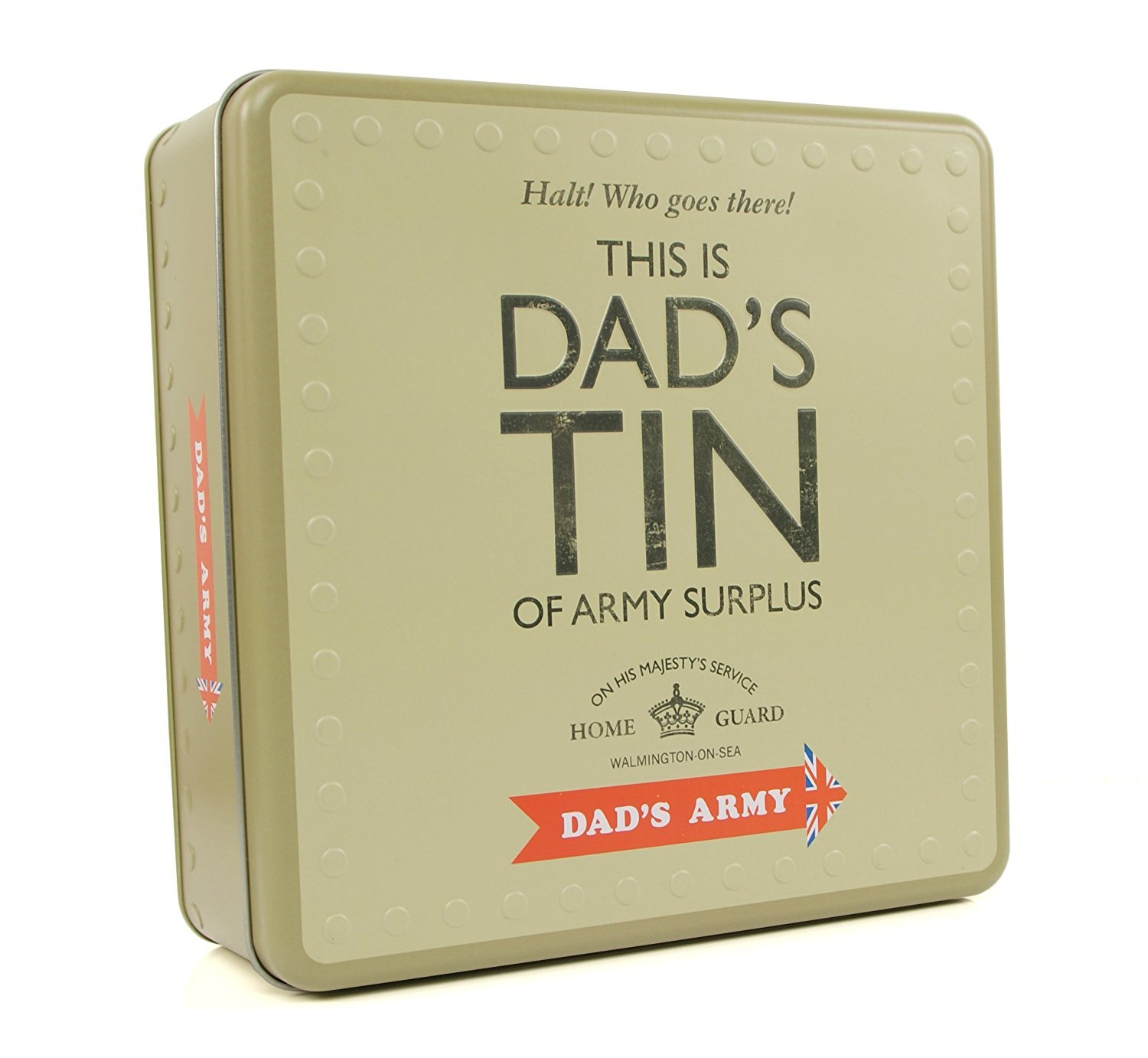 Dads Army Dads Tin Dads Army Gift Present by Dads Army