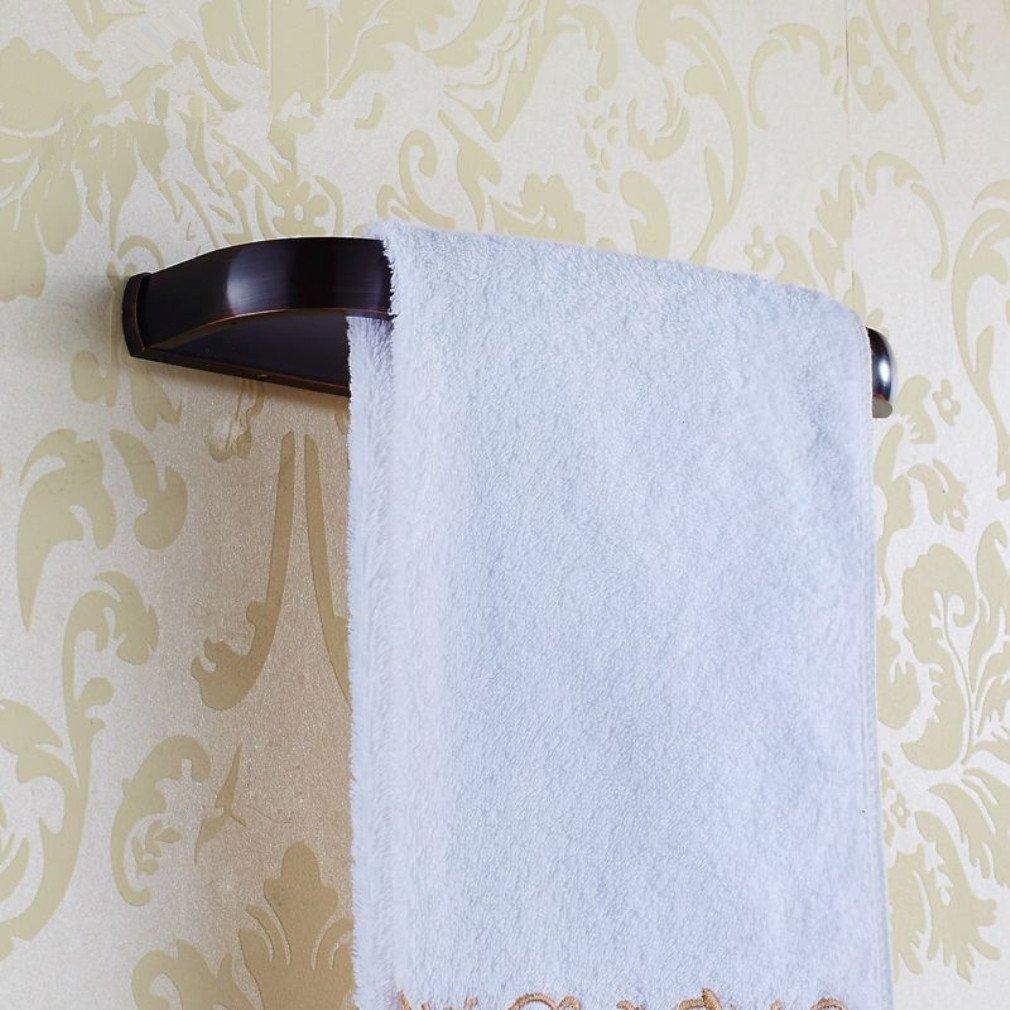 Bronze Bathroom Towel Rack - Towel Holder Bronze - KC-BR549 Bronze Towel Rack Wall Mounted Towel Holder Rust Protection For Bathroom Accessories (Wall Mount Towel Holder)