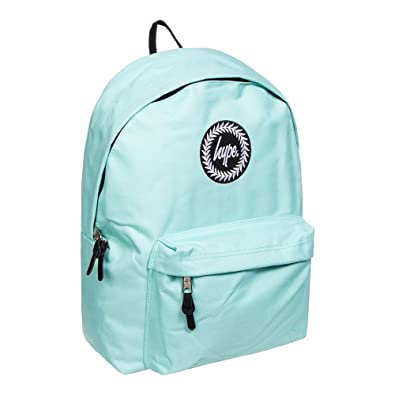 HYPE Backpack Plain Mint Green School Bag - HYPE School Bag  Amazon ... c19a4a48ab