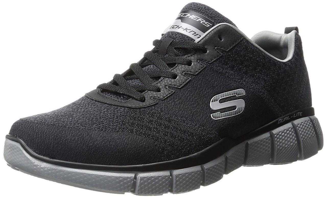 Skechers equalizer 2.0 True Balance Black/Charcoal Mens 9.5