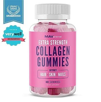 Amazon.com: Collagen Gummies Suplemento para hombres y ...
