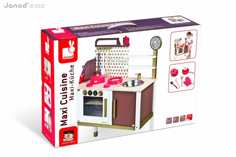 Janod 06520 - Wooden Toy Kitchen: Amazon.co.uk: Toys & Games