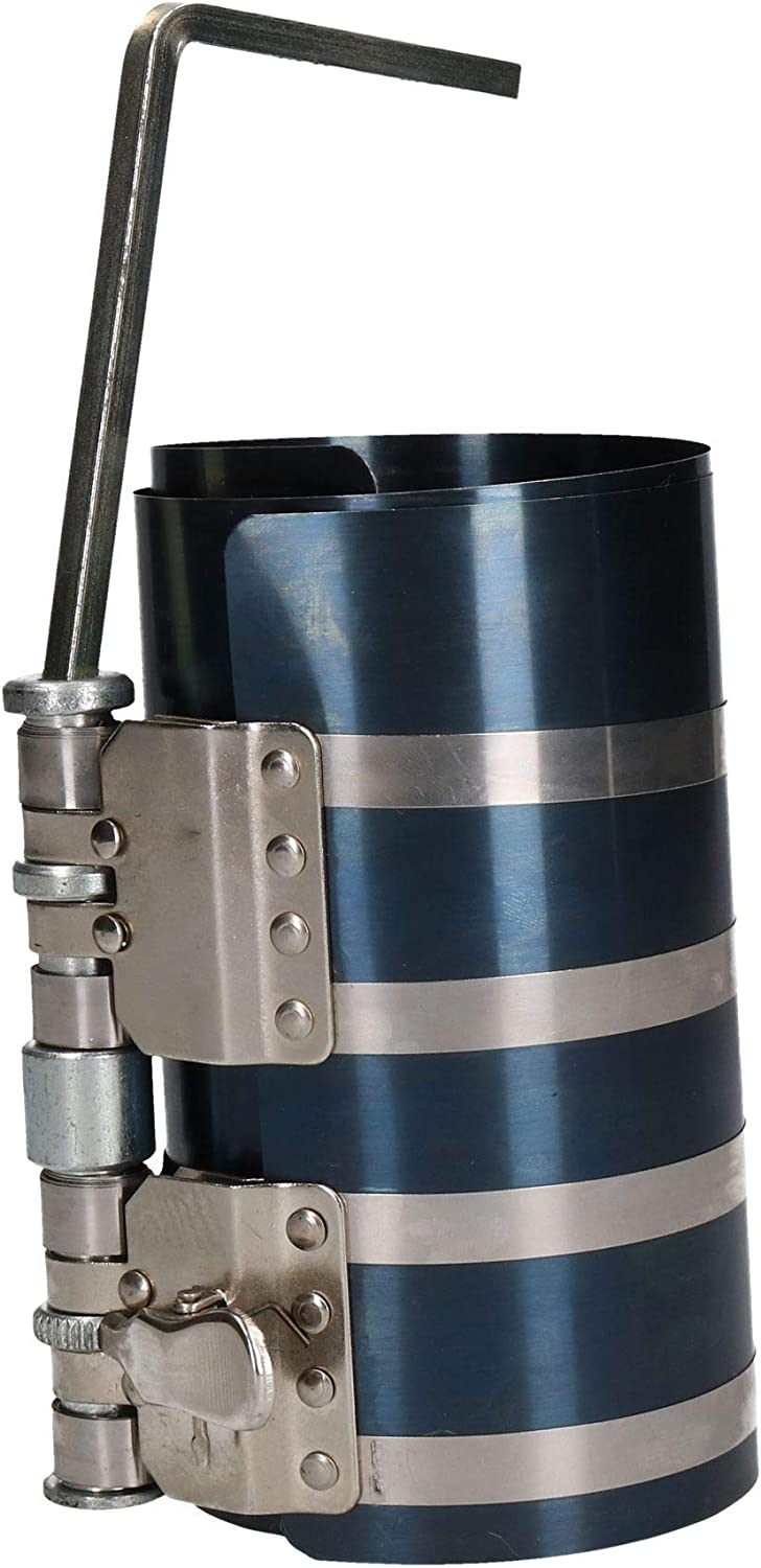 AB Tools-US Pro BERGEN 150 mm Piston Ring Compressor Diameter 90-175 mm Ratchet Type AT937