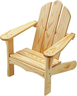 product image for Little Colorado Child's Adirondack Chair- Unfinished