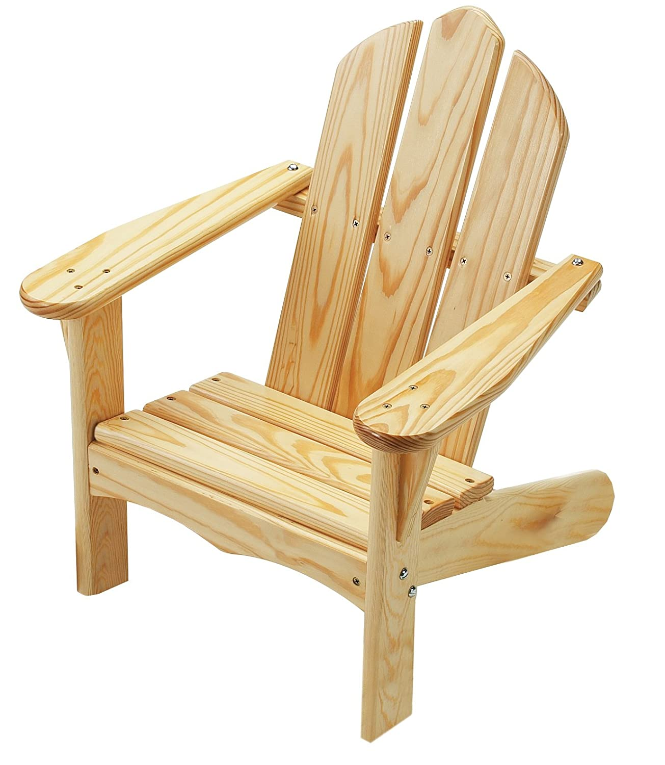 Amazon.com: Little Colorado Childu0027s Adirondack Chair  Unfinished: Toys U0026  Games