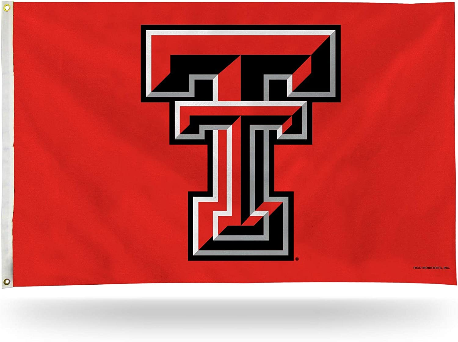 NCAA Texas Tech Red Raiders 3-Foot by 5-Foot Single Sided Banner Flag with Grommets