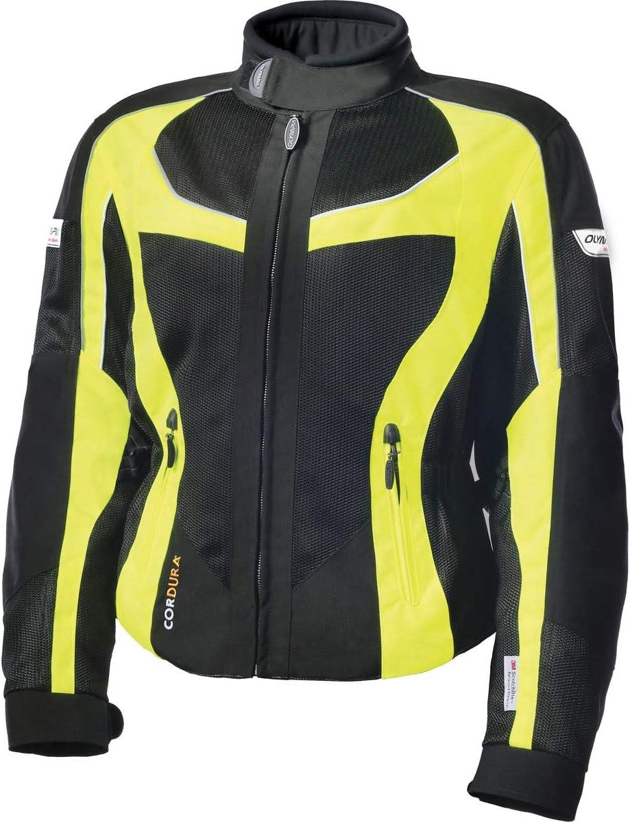 Neon Yellow, Medium Olympia Womens Switchback 2 Air Jacket