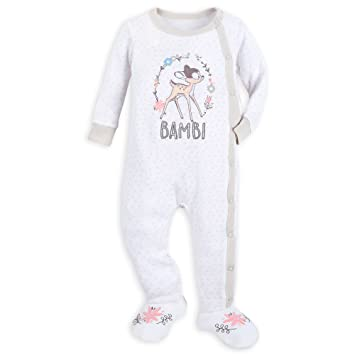 d9c405ba375 Disney Bambi Footed Stretchie Sleeper for Baby Size 0-3 MO Multi