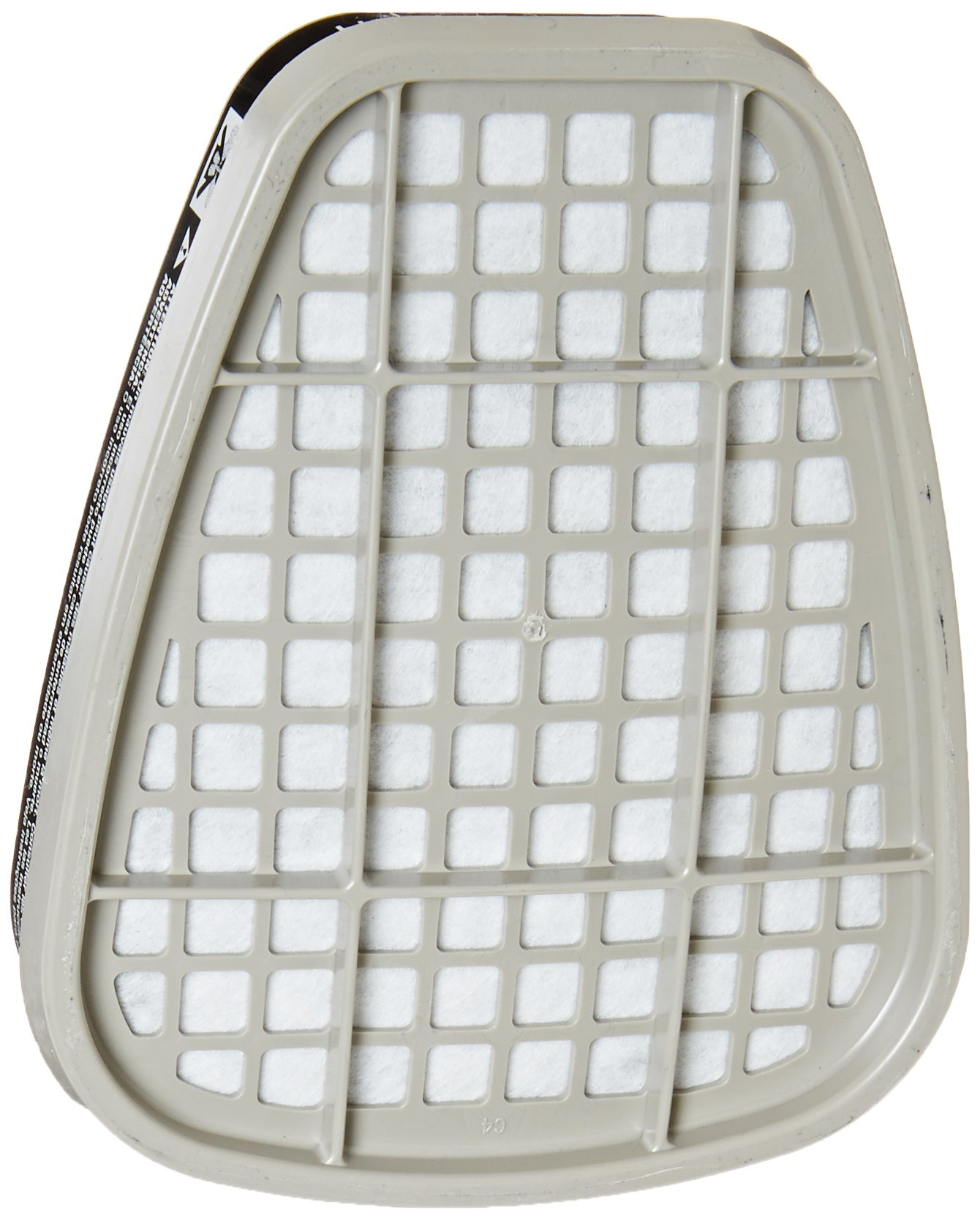 3M Safety 6001 Low-Maintenance Organic Vapor Cartridge, For 6000 and 7000 Series Air Purifying Respirator (Pack of 2)