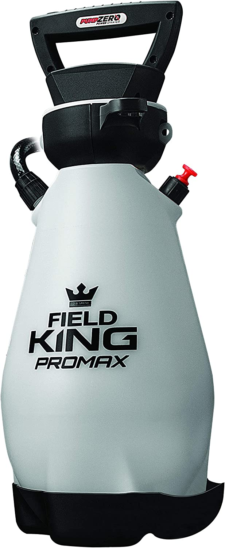 Field King 190571 Lithium-Ion Battery Powered Pump Zero Technology Sprayer, 2 Gallon White