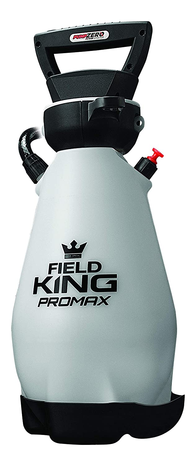 Field King 190571 Lithium-Ion Battery Powered Pump Zero Technology Sprayer, 2 Gallon White