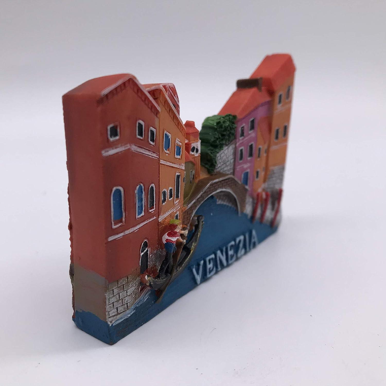 3D Venise Italie R/éfrig/érateur R/éfrig/érateur Aimant Touristique Souvenirs /À La Main R/ésine Artisanat Magn/étique Autocollants Maison Cuisine D/écoration Voyage Cadeau
