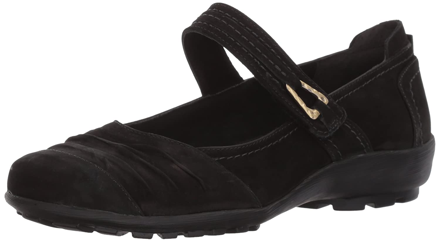 Walking Cradles Women's Hayden Loafer B01N4RE9PF 7.5 XW US|Black Roughout Leather
