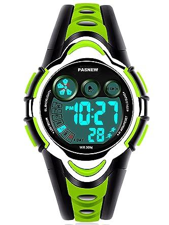 Amazon.com: Reloj deportivo digital para niños y niñas de 5 ...