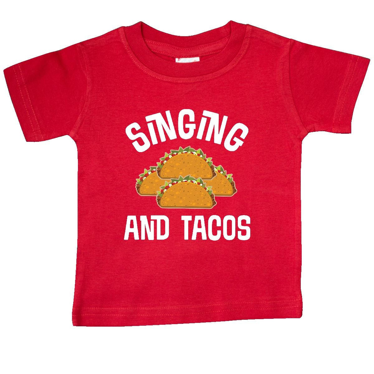 a0ba4b420 Amazon.com: inktastic - Singing and Tacos Funny Choir Baby T-Shirt: Clothing