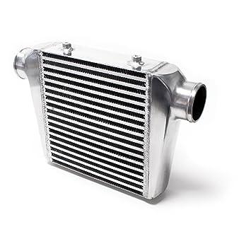 WilTec - Radiador de aire de sobrealimentación, enfriador tipo intercooler 003, universal