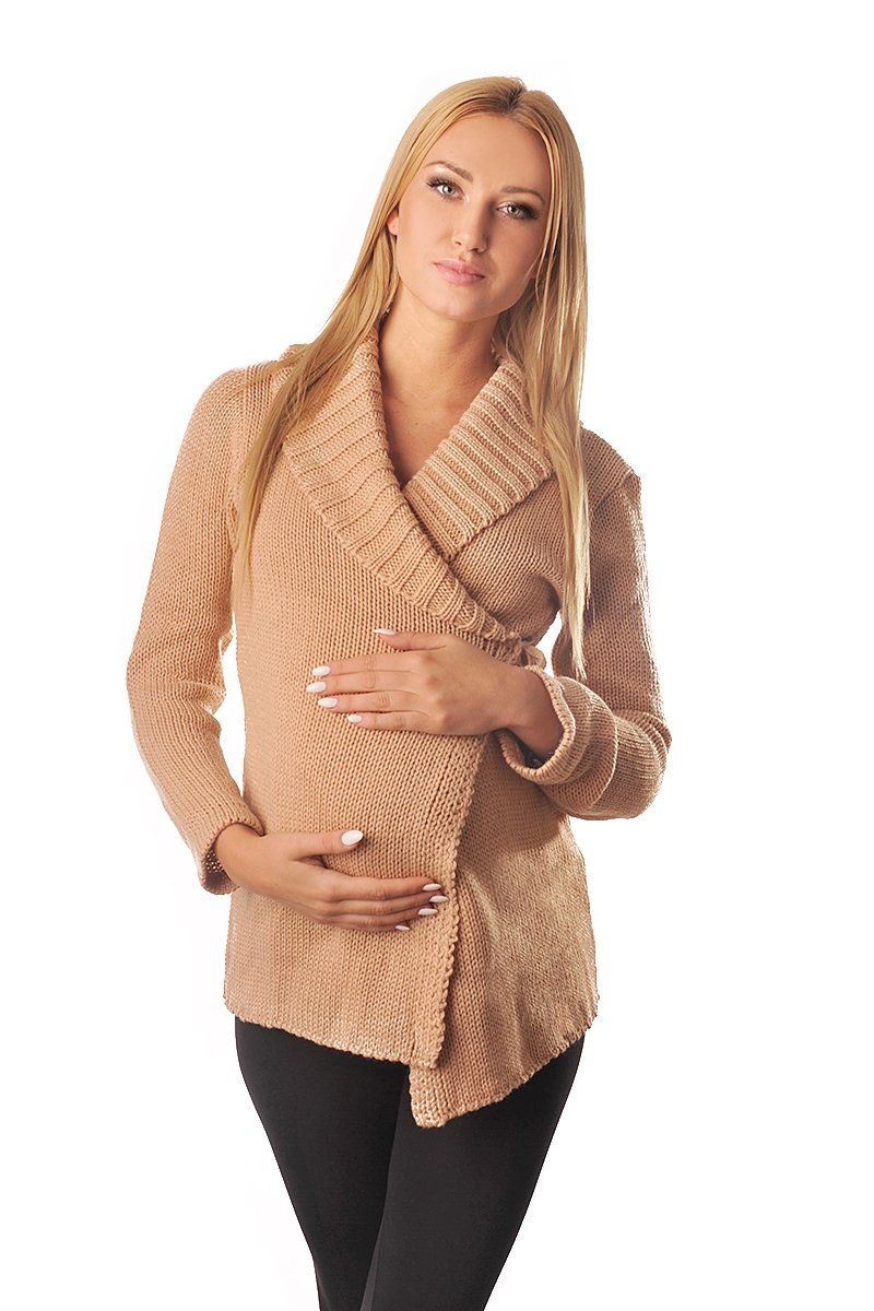 Purpless Maternity Embarazo y la Lactancia Suéter 9002