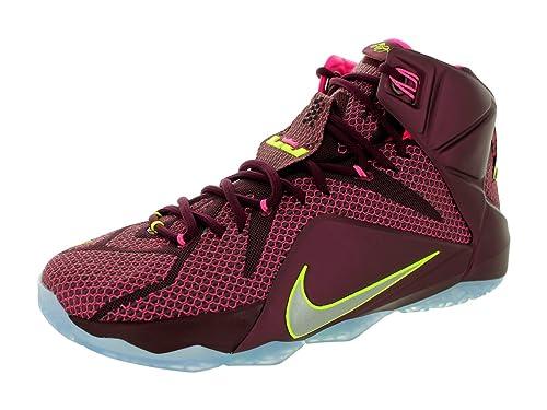 nike lebron XII 12 hombres zapatillas de baloncesto tipo botín 684593 zapatillas james: Amazon.es: Zapatos y complementos