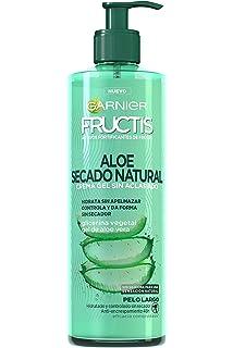 Garnier Fructis Aloe Secado Natural Crema Gel sin Aclarado - 400 ml