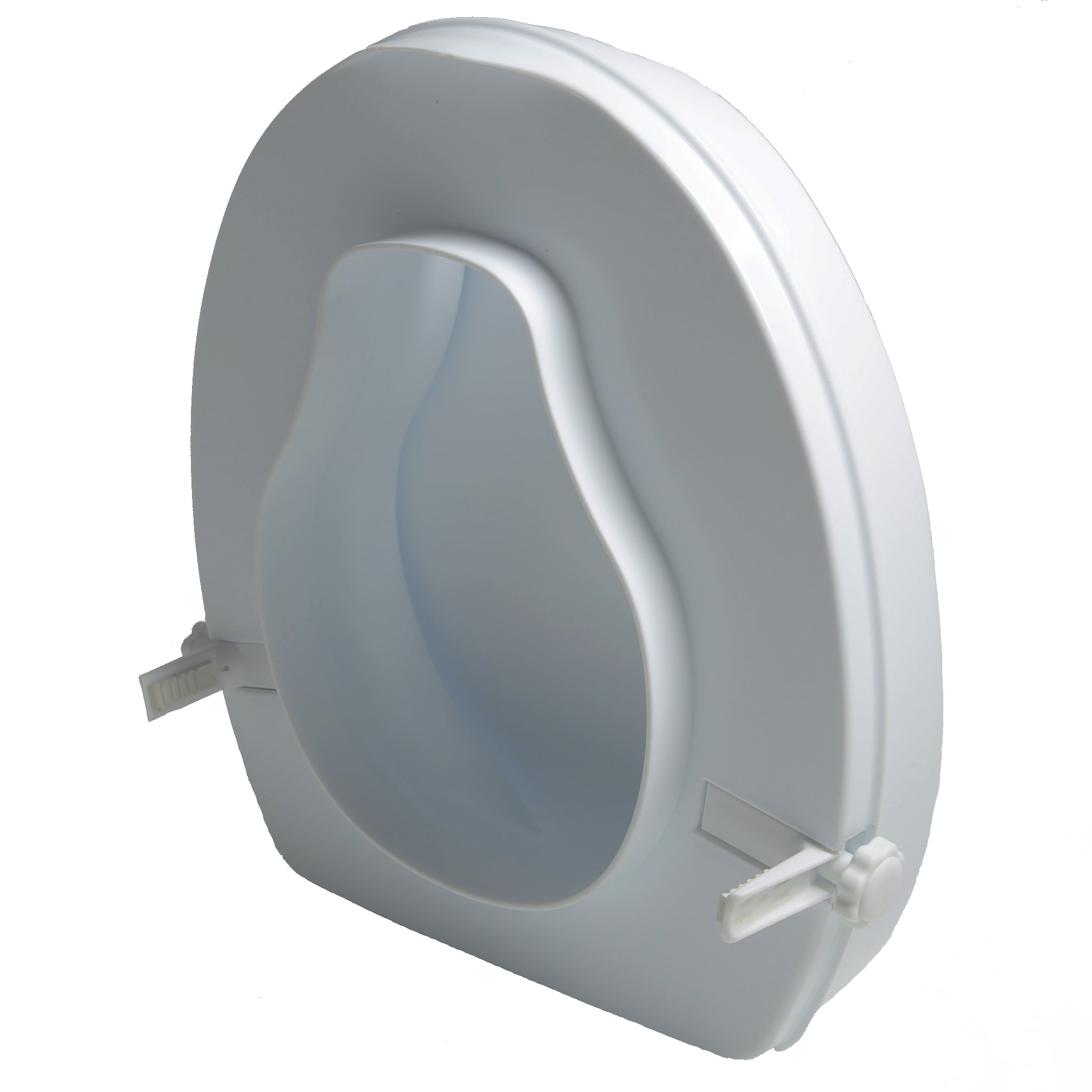 Raised Toilet Seat Increase Height Over Commode 2 Inch