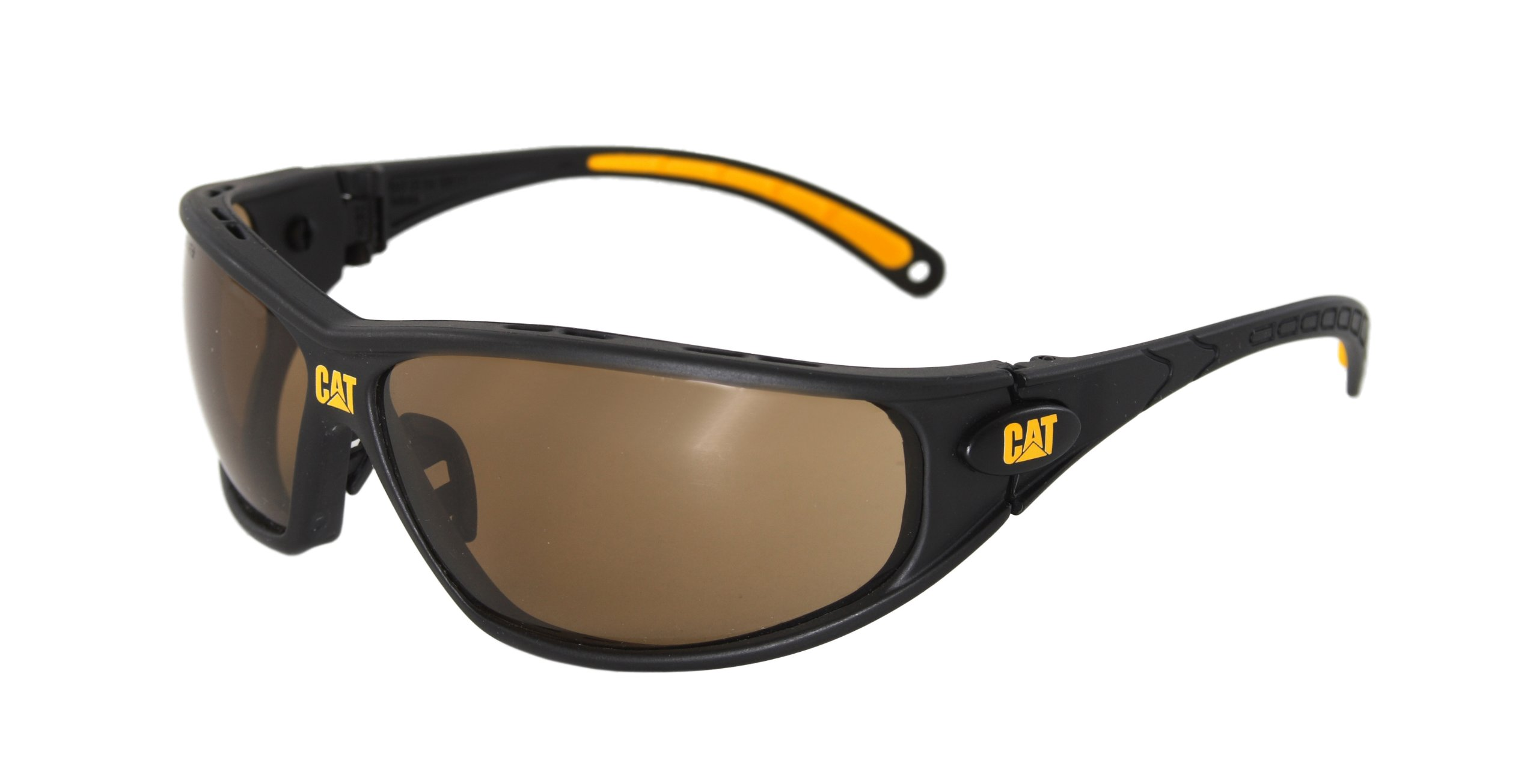 Caterpillar CSA-TREAD-103-AF Filter Category 5-2.5 Brown Lens Safety Glasses, Small