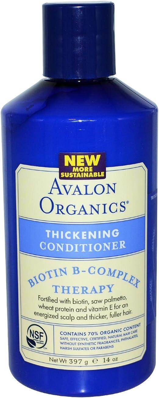 Avalon Organics - Acondicionador voluminizador, biotina B