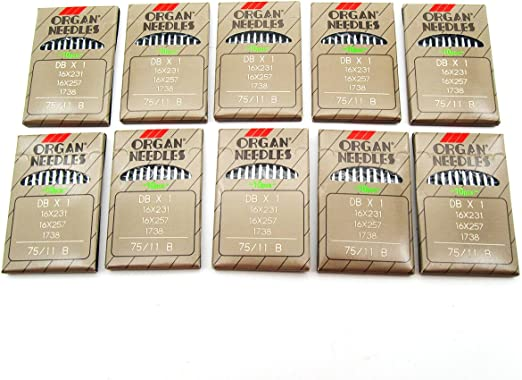 + 20 ORGAN SEWING MACHINE NEEDLES 80//12 FITS TOYOTA//JANOME//SILVER//PFAFF//BROTHER