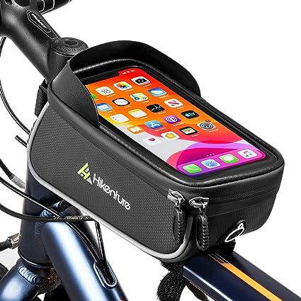 Fahrrad Fahrradrahmen Paket Front Tube Pouch Bag Handyhalter Wasserdicht DE
