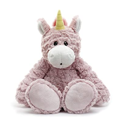 DEMDACO Magellica Mellow Fellows Unicorn Pale Pink Children's Plush Stuffed Animal Toy: Baby