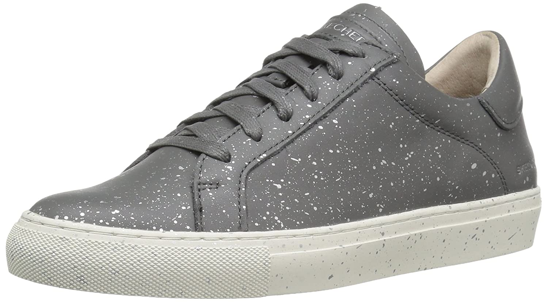 Skechers Women's Vaso Lace-Up Fashion Sneaker  8.5 B(M) US Grey/Multi