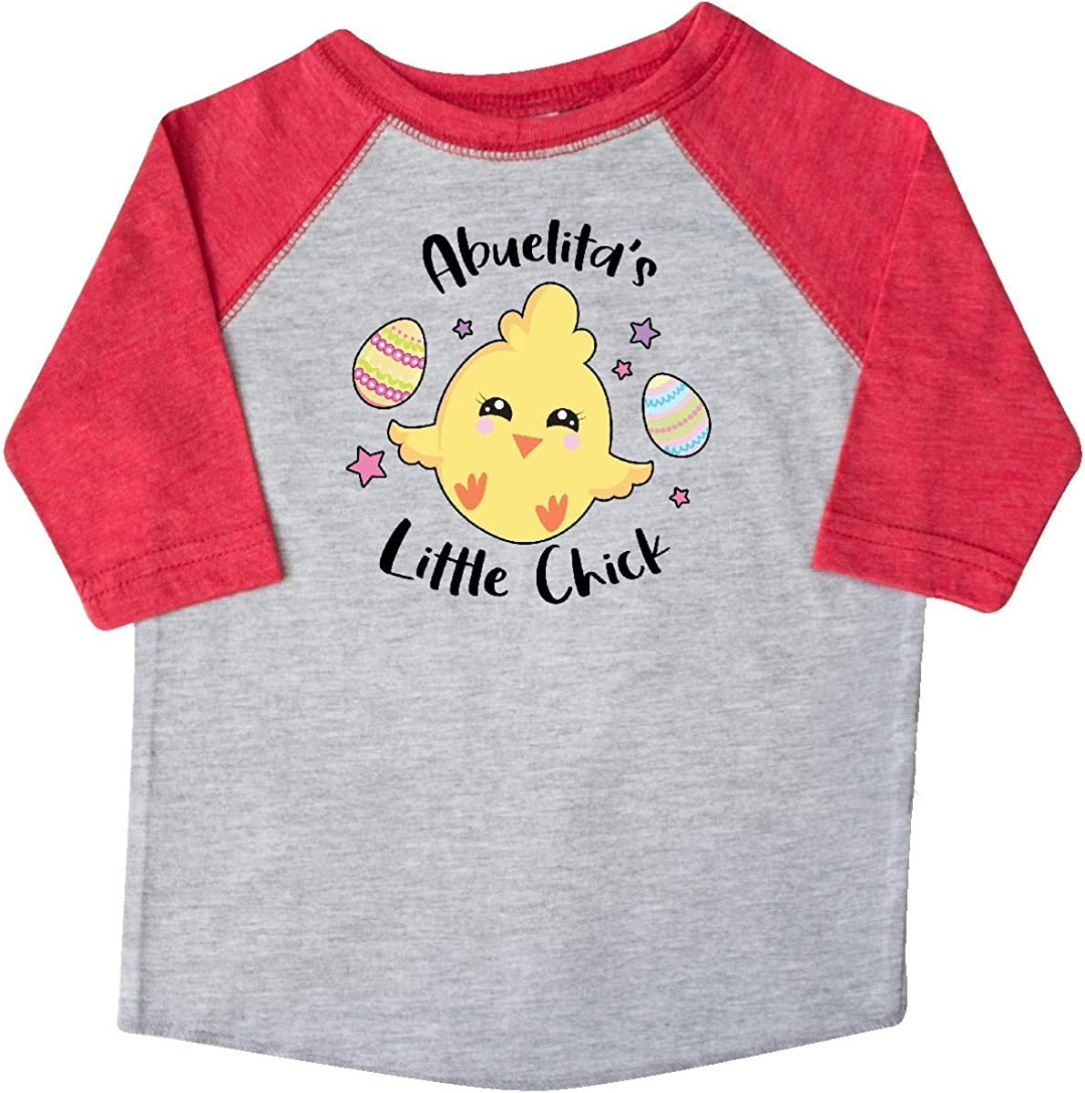 inktastic Happy Easter Abuelitas Little Chick Toddler T-Shirt