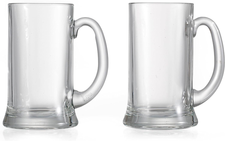 Ritzenhoff & Breker 199758 - Jarras de Cerveza (0,5 litros, 2 Unidades)