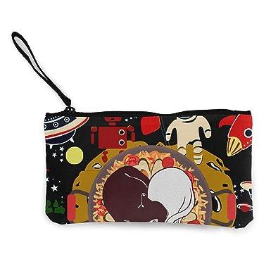 Amazon.com: Bolsa de cosméticos para gatos y astronautas de ...