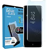 Whitestone Dome Glass, Replacement Set (Protector And Adhesive Only) [for Galaxy S8] Tempered Screen Protector