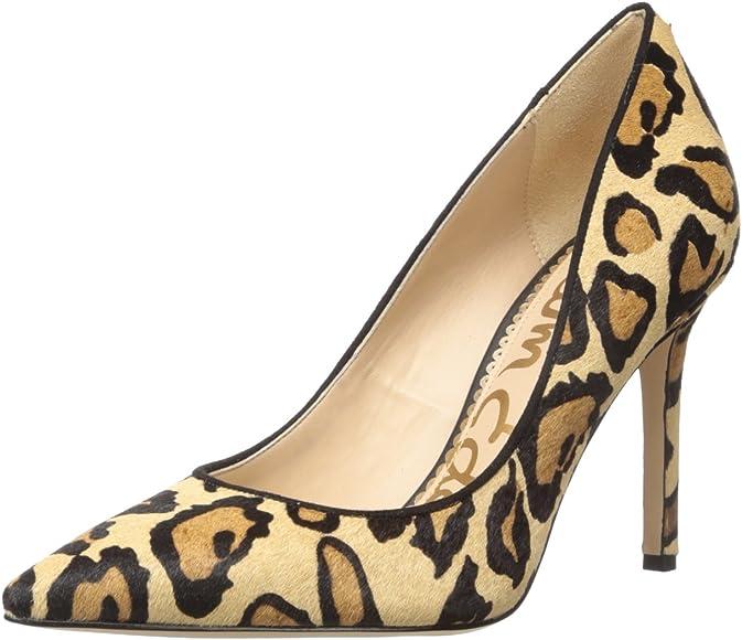 Sam Edelman Women's Hazel Pump, New Nude Leopard, 7 Medium