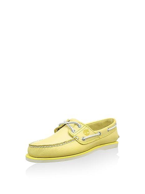 timberland scarpe barche giallr