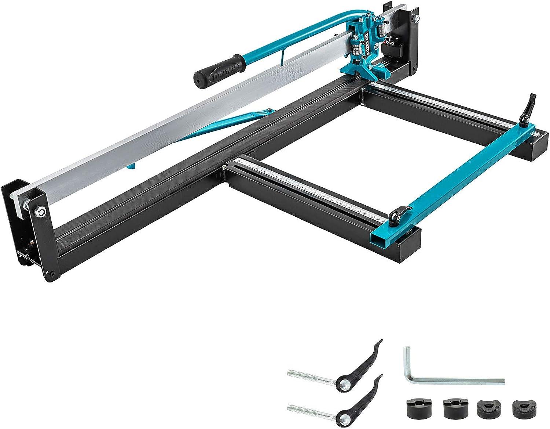 VEVOR Cortador Manual de Azulejos 35-800 mm con Posicionamiento Láser Preciso Máquina para Cortar Azulejos