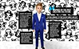 Black n Bianco Boys' First Class Slim Fit Suits