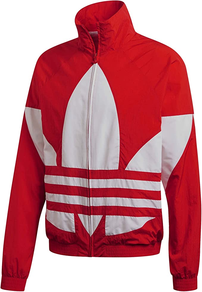 Originals Big Logo Herren Trainingsjacke in Rot | adidas