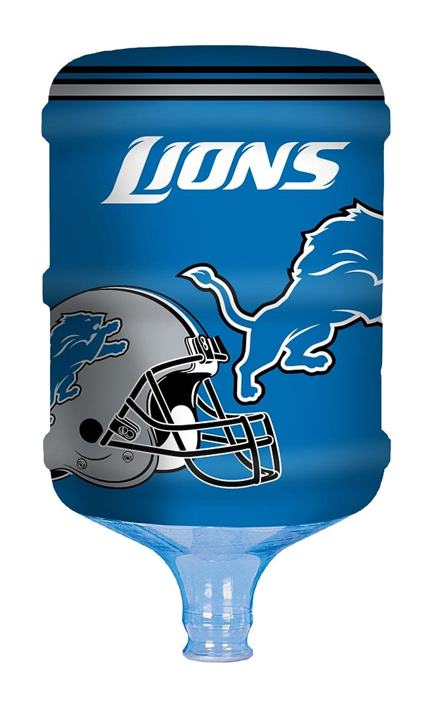 NFL プロパンガスボンベ 5ガロンウォータークーラーカバー B00UJUPUOM ブルー Detroit Lions ブルー