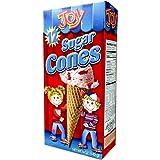 Joy Cone 12-Count SUGAR Ice Cream CONES 5oz (2 Pack)